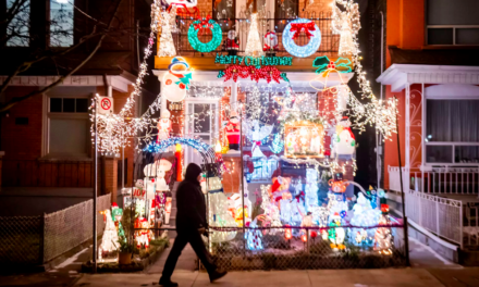 These Toronto Homes have the most Magical Holiday Displays